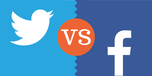 What is the difference between twitter and facebook?