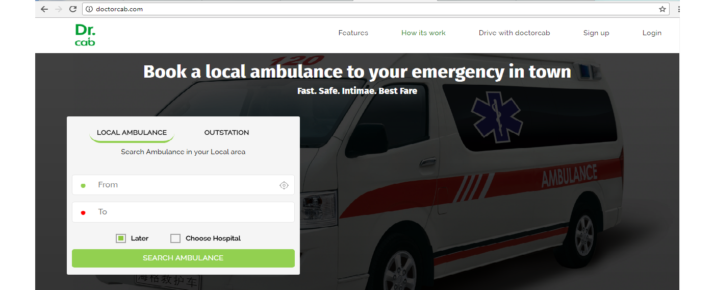 Laravel framework php Development for ambulance booking system