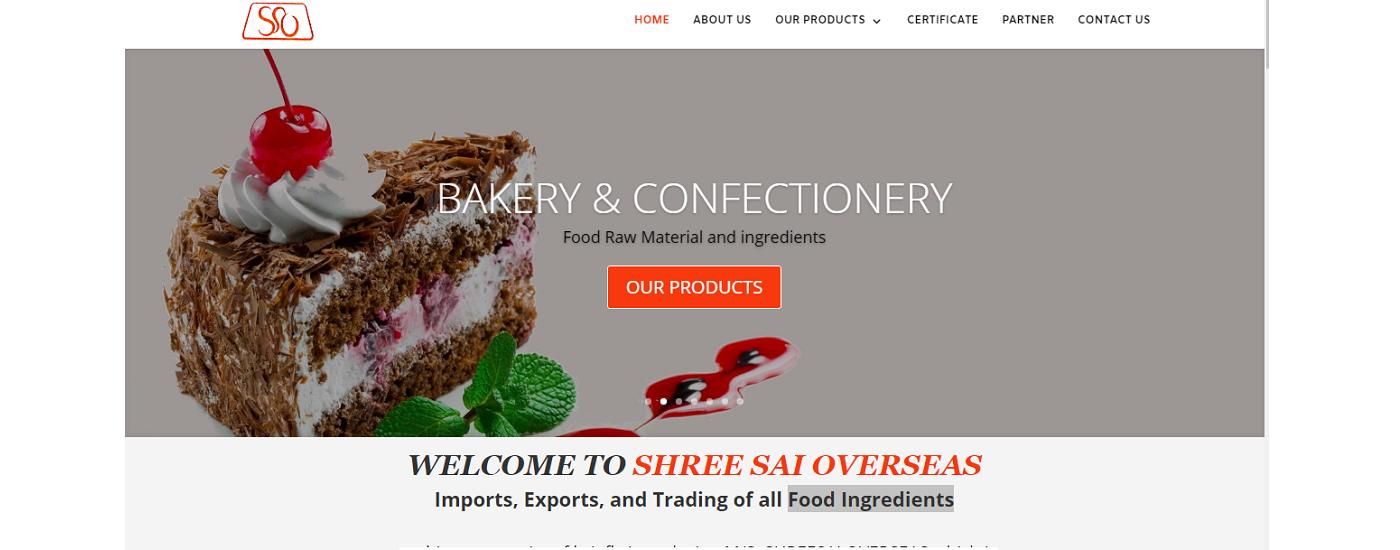Website design & Development for Raw Food Ingredients